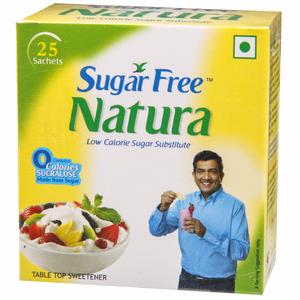 Sugar Free Natura Sach 0.75 gm 25 Pcs