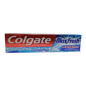 Colgate Maxfresh With Cooling Crystals Blue Gel Anticavity Toothpest 150 gm