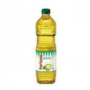 Fortune Refined Soyabean Oil 1 ltr Bottle
