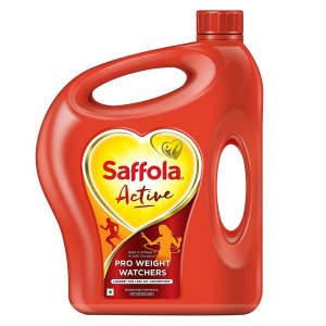 Saffola Active Edible Oil Jar 5 Ltr