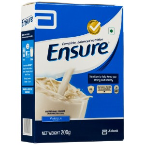 Ensure Vanilla Refill Powder 200 gm with Complete Balanced Nutrition