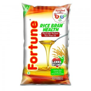 Fortune Rice Bran Health Oil 1 ltr Pouch