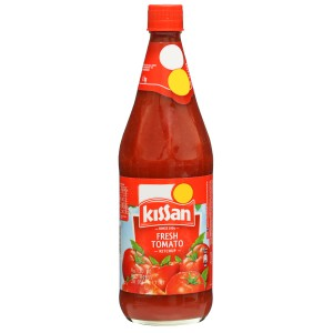 Kissan Fresh Tomato Ketchup 1 kg with 100 Percent Pure Tomatos