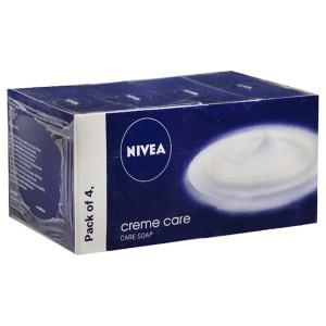 Nivea Creme Care Soap 4x75 gm (Four Soap)
