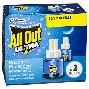 All Out Ultra Power Refill Liquid 2x45 ml
