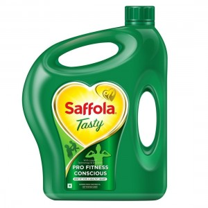 Saffola Tasty Edible Oil 5 lit Pet Jar
