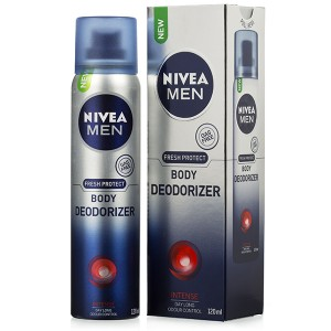 Nivea Men Intense Fresh Protect Body Deodorizer 120 ml