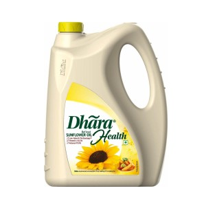Dhara Refined Sunflower Oil 5 ltr Jar