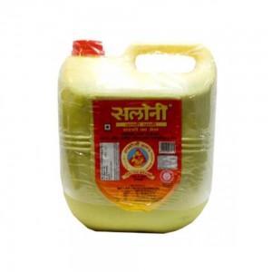 Saloni Kachi Ghani Mustard Oil 5 ltr Jar