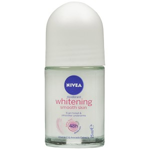 Nivea Whitening Smooth Skin Roll On Deodorant 25 ml