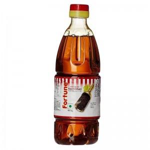 Fortune Kacchi Ghani Mustard Oil 500 ml Bottle
