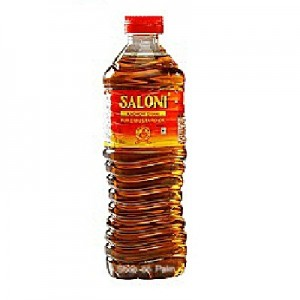 Saloni Kachi Ghani Mustard Oil 500 gm Bottle
